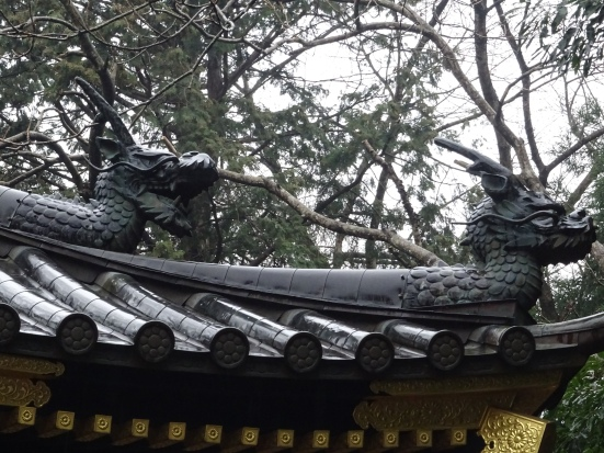 Date Masamune's was known as 'the one-eyed dragon', and there were dragons all over the place!