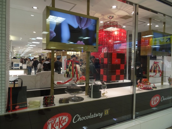The KitKat Boutique is surprisingly posh for somewhere that sells KitKats...