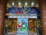 Relaxation time in Osaka's SpaWorld