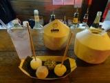 Mochi and coconuts at TokyoNights!