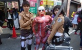 Accidentally stumbling across Osaka's cosplay festival