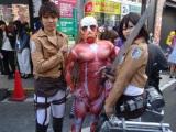 Accidentally stumbling across Osaka's cosplayfestival