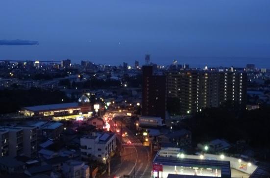 Beppu at night