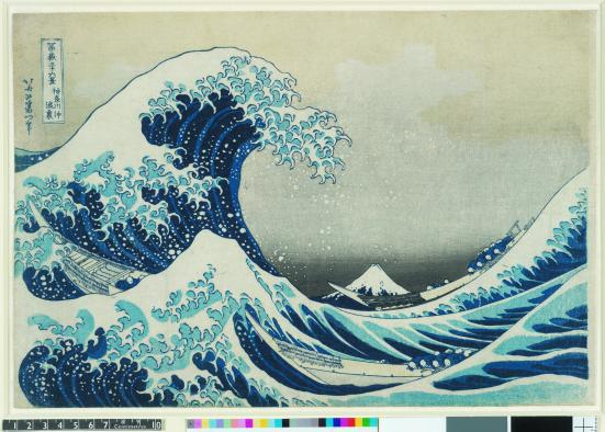 'The Great Wave', 1831