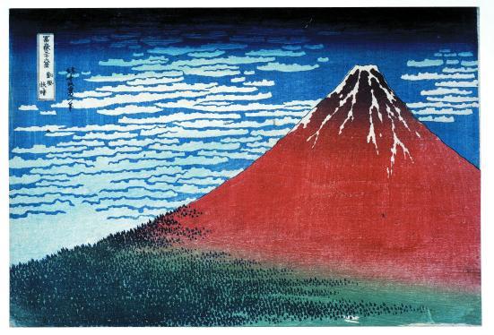 'Red Fuji', 1831