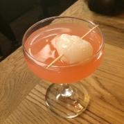 Lychee & pomegranate martini