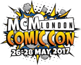 Diary date: MCM London Comic Con May 2017