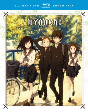 I First Came Across The Anime Series Hyouka Late Last Year When It Popped Up On NHKs Poll Of Best 100 All Time No
