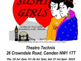 New comedy 'Sushi Girls' coming to London!